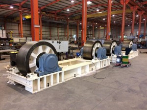 Chassis rolls - Dryer